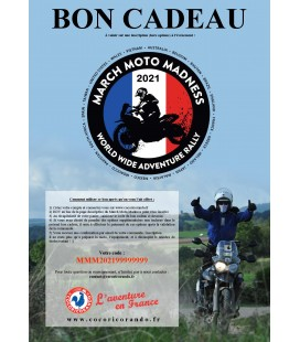 Bon-cadeau March Moto Madness 2021